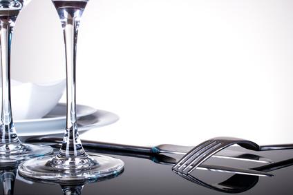 Tisch eindecken mit einem Tischset