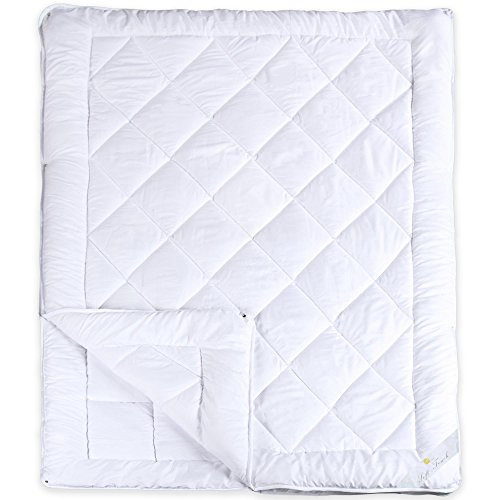 4-Jahreszeiten Steppdecke für Winter und Sommer | weitere Decken wählbar | Mikrofaser Bettdecke 135 x 200 cm | Serie Soft Touch aqua-textil 0010577